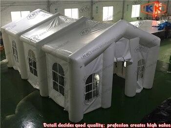 Новый белый надувной шатер для выставки