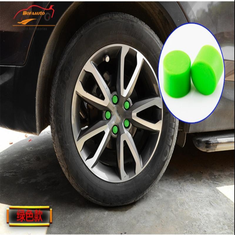 car sticker for hyundai creta wheel hub screw cover wheel hub sticker Wheels Tires Hub Caps Protector center cap for rims 20pcs