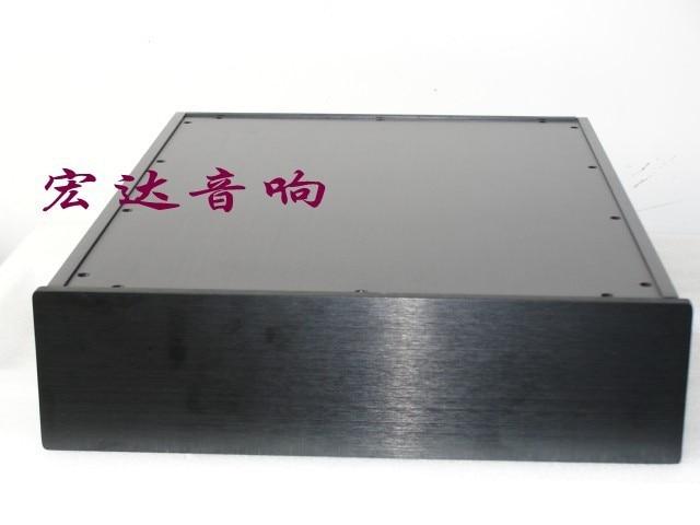 Boîtier 320*85*420mm 300B châssis d'amplificateur de Tube/châssis d'amplificateur arrière/châssis d'amplificateur de puissance en aluminium/boîtier d'amplificateur/boîte d'amplificateur de bricolage