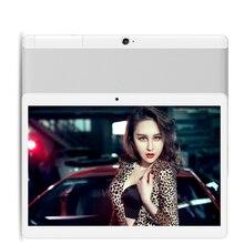 4 г LTE S109 Android 6.0 Tablette PC Tab 10.1 дюймов IPS Octa core 4 ГБ + 32 ГБ 64 ГБ Dual SIM карты LTE FDD телефонный звонок 10.1 «Phablet