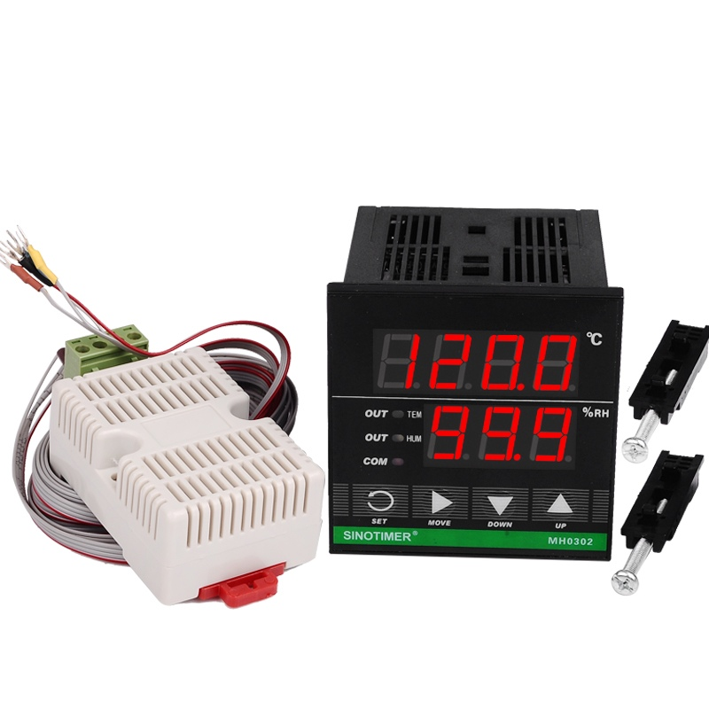 72*72mm Digital Temperature and Humidity Controller цена
