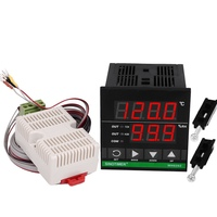 72*72mm Digital Temperature and Humidity Controller
