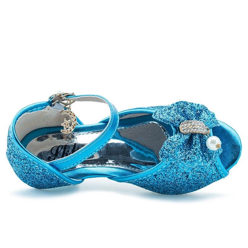 Talons Bleu 6 Sandales 8 Fille Princesse 7 9 5 Ans Filles Enfants 4 Hauts Chaussures 3 cLq4jS35AR