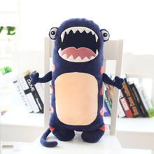 Creative cartoon monster spirit bat cow head plush stuffed doll toys kid baby boy gift pillow free shipping Triver Toy