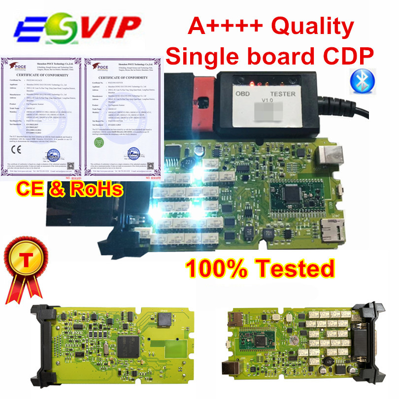 10pcs lot DHL A Green Single Board OBDIICAT 150 with good NEC RELAYS Scanner 2015 3
