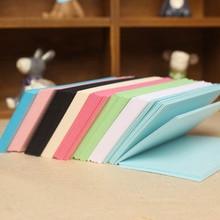 20pcs / lot 10 * 7cm 120g Greeting Card Hand Paper Kindergarten DIY Material Origami Jam