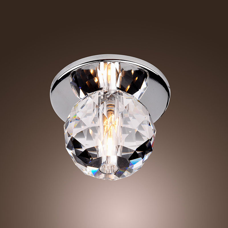 Online Buy Wholesale Crystal Ball Ceiling Light From China
