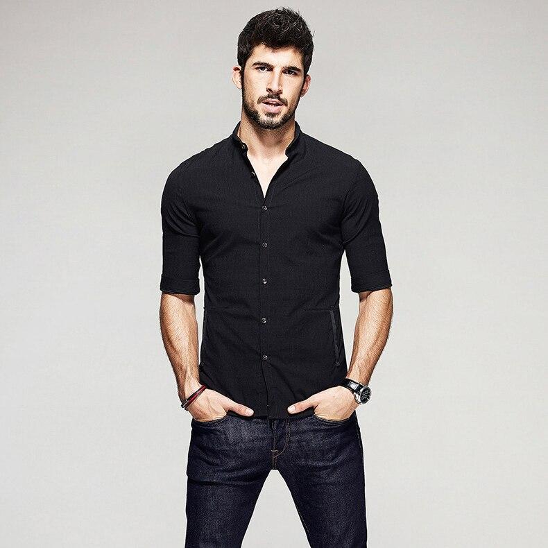Aliexpress.com : Buy KUEGOU Summer Mens Casual Shirts Patchwork ...