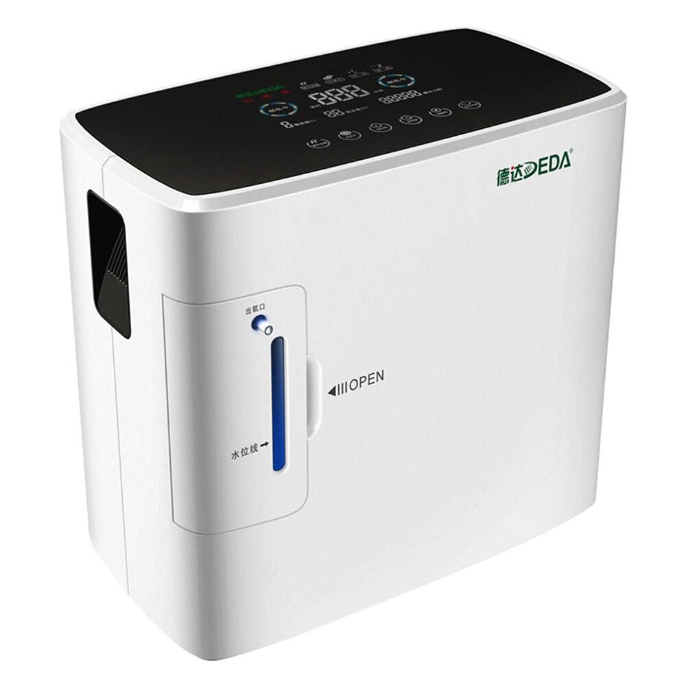 DE-S300 Portable Household Intelligent Oxygen Concentrator Generator Oxygen Making Machine Air Purifier 90% High Purity 6L Flow l air de rien