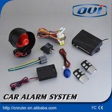 12V One Approach Car Burglar Alarm Safety Safety System with 2 Distant Management Auto Burglar