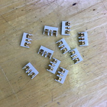 10X die batterie kontaktieren stecker für motorola xir p8668 dgp8550 dgp8050 p6600 DP4400 etc walkie talkie