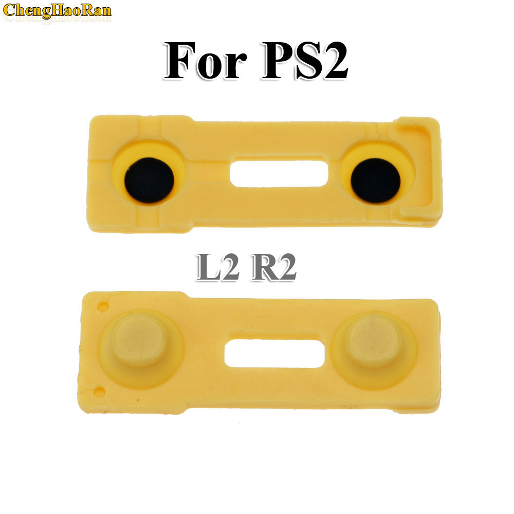Image 3 - ChengHaoRan 100x Replacement Silicone Rubber Conductive Pads R2 L2 buttons Touches For Playstation 2 Controller PS2 Repair Parts-in Replacement Parts & Accessories from Consumer Electronics