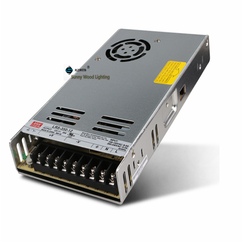 100 240Vac to 12VDC ,360W ,12V 30A UL Listed power supply ,LED screen ,monitor ultra slim driver ,LRS 350 12