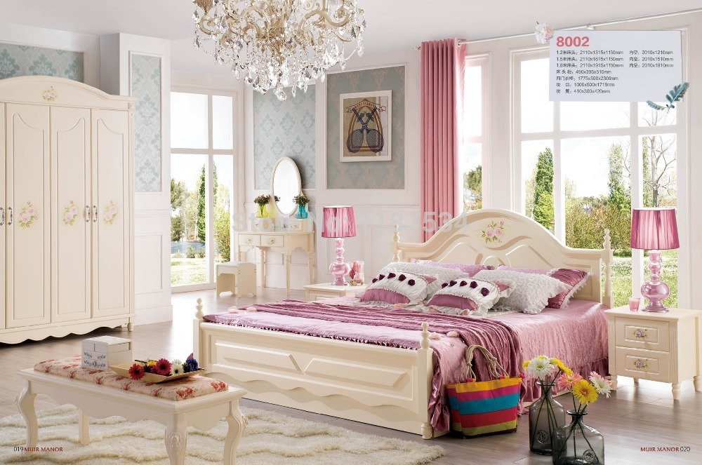 Factory Price Bedroom Furniture Luxurious King Size