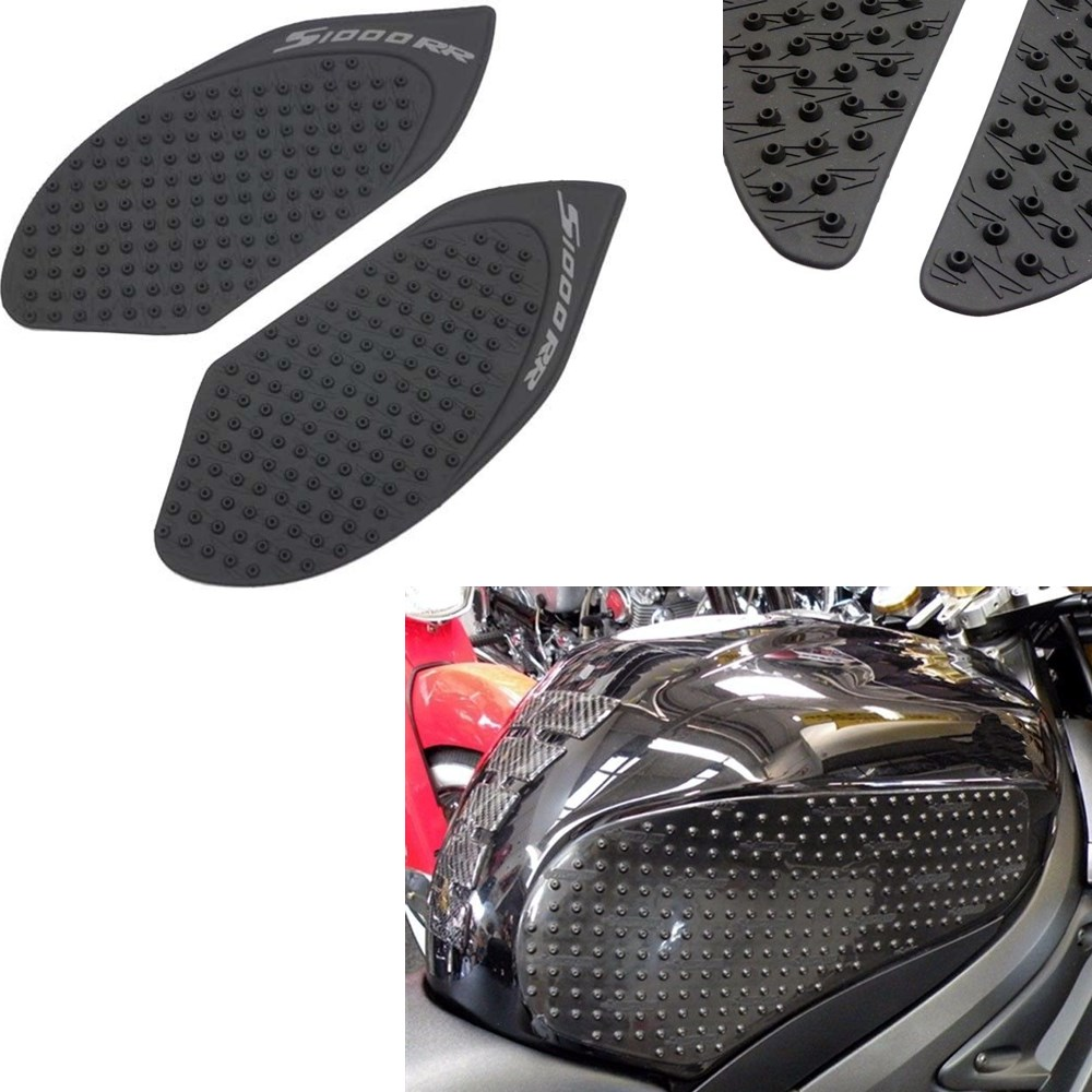 Acz Motorcycle Black Anti-slip Sticker Tank Traction Pad 3m Side Gas Knee Grip Protector For Bmw S1000rr S1000 Rr 2010-2015 Attractive Appearance Motorcycle Accessories & Parts Motorbike Accessories
