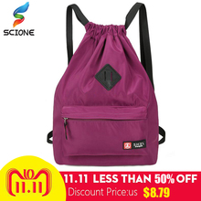 Outdoor Drawstring Bag Festival Backpack Nylon For Gym Bags Sports Fitness  Travel Yoga Women Girls Student · 5 Colors Available 9efcbff15a