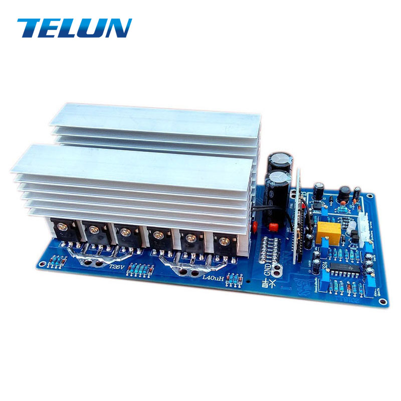 Peak 11000W continued 3000W 5000W 5500W DC24V 36V 48V to AC 220V pure sine inverter board
