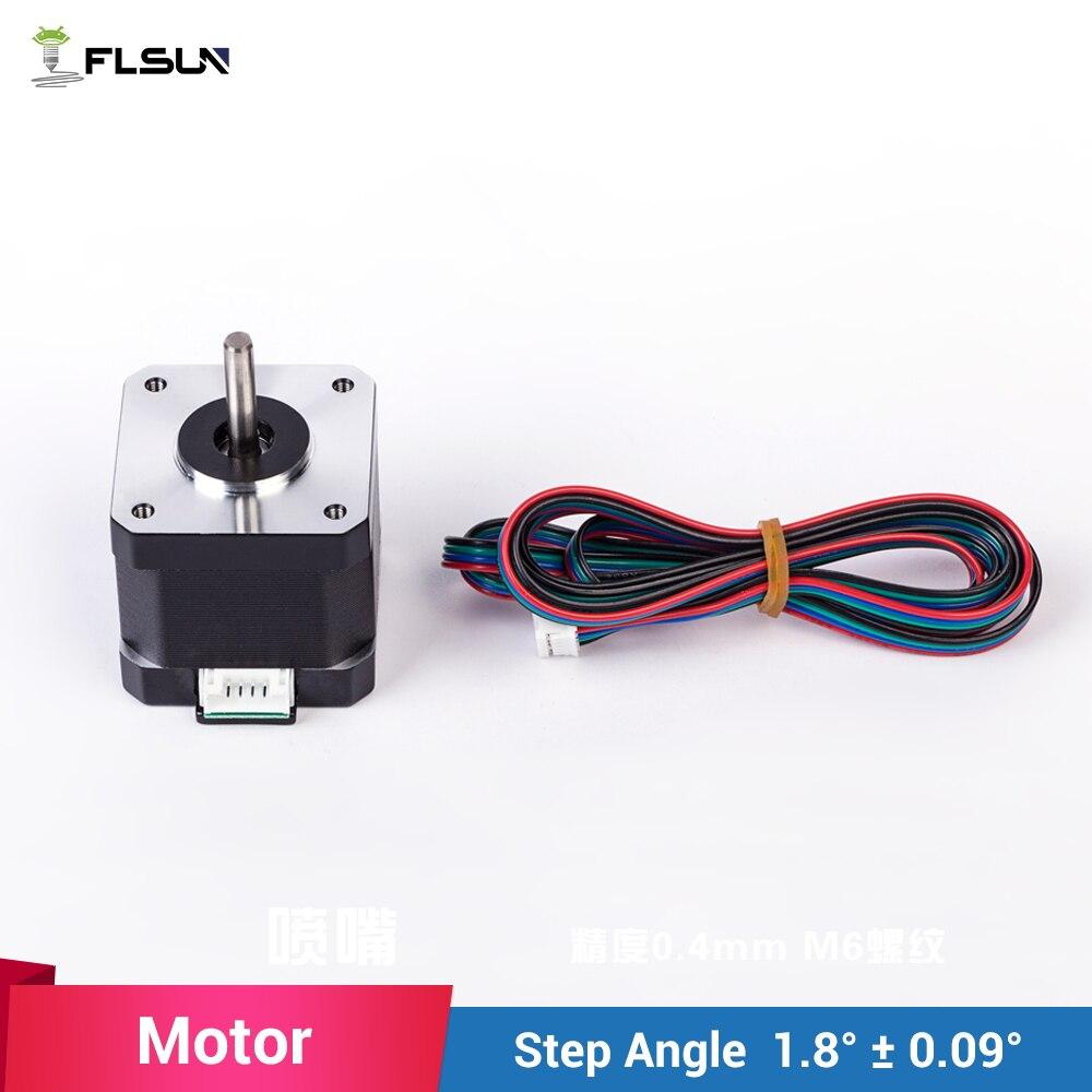 FLSUN 1pcs-lot MK8 Extruder Head motor for 3d printer step motor