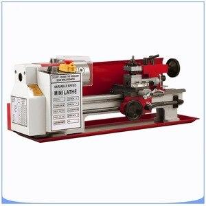 Image 5 - Mini high Precision DIY Shop Benchtop Metal Lathe Tool Machine Variable Speed Milling
