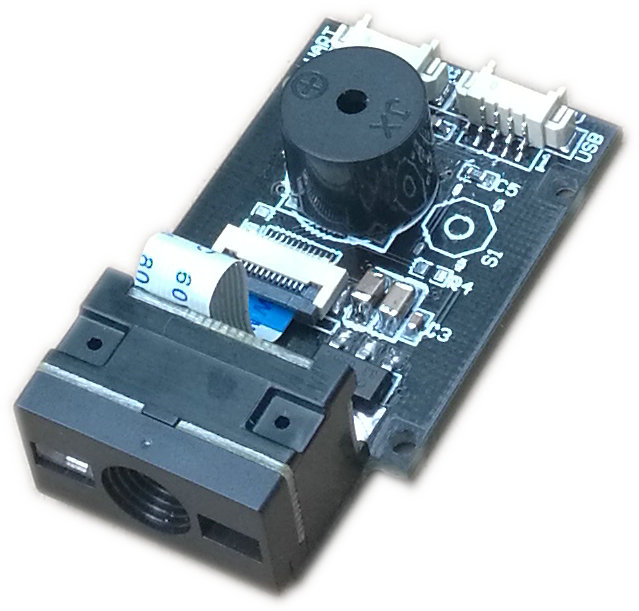 imágenes para 1D Escáner de Código de Lector de Código de Barras QR 2D Lector de Código de Módulo