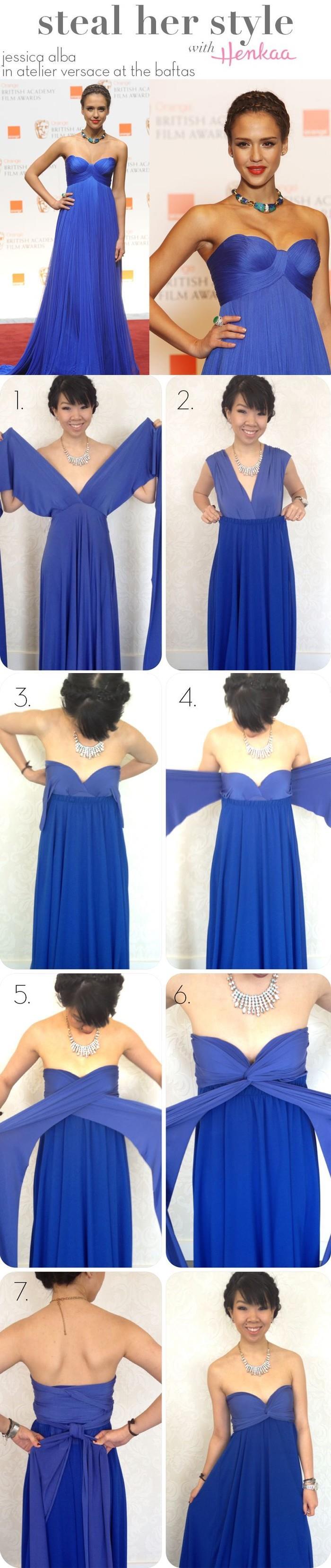 4928c2756f0fc Women Fashion sexy Twist Wrap Ways variety Wear Dress Maxi tunic Flirty  Multi Way halter Convertible Infinity Swing dressesUSD 52.69-55.69 piece