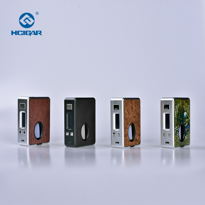 Hcigare VT inbox V3 squonk Mod boîte sortie 1-75 w vaporisateur Evolv DNA75 puce alimentée 18650 batterie elektronik sigara mod - 3