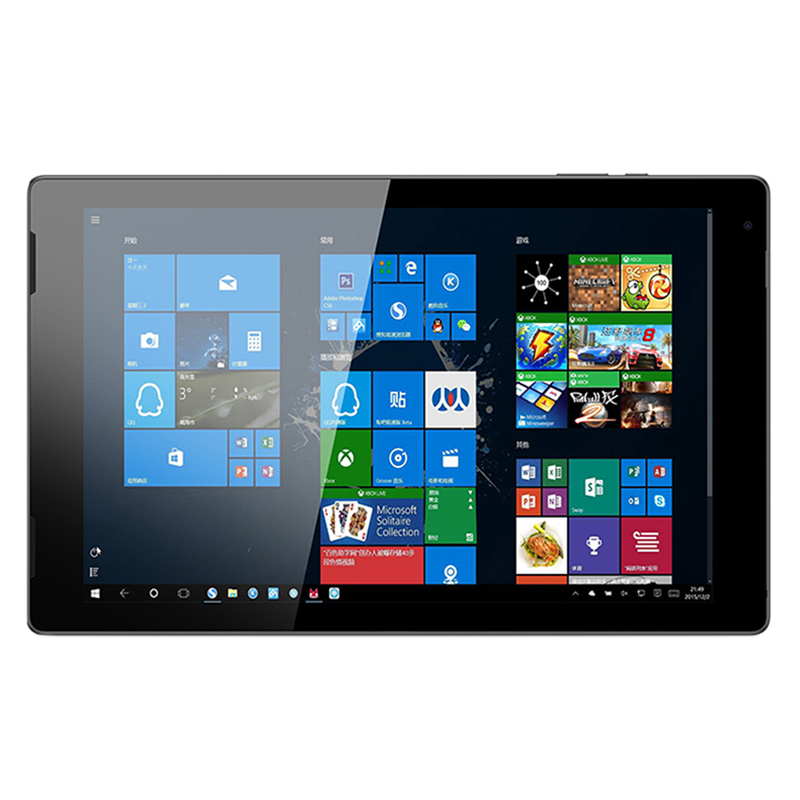 Jumper Ezpad 7 2 in 1 Tablet Pc 10.1 inch Fhd Ips Screen for Intel Cherry Trail X5 Z8350 4Gb Ddr3 64Gb Emmc Windows 10 Tablet Pc image