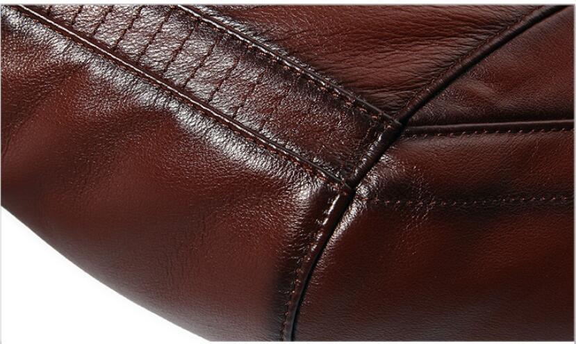 HTB1Deq7di6guuRkSmLyq6AulFXaE AYUNSUE Men's Genuine Leather Jacket Real Cow Leather Plus Size Cowhide Jackets for Men Natural Lamb Fur Coat L178101 KJ841