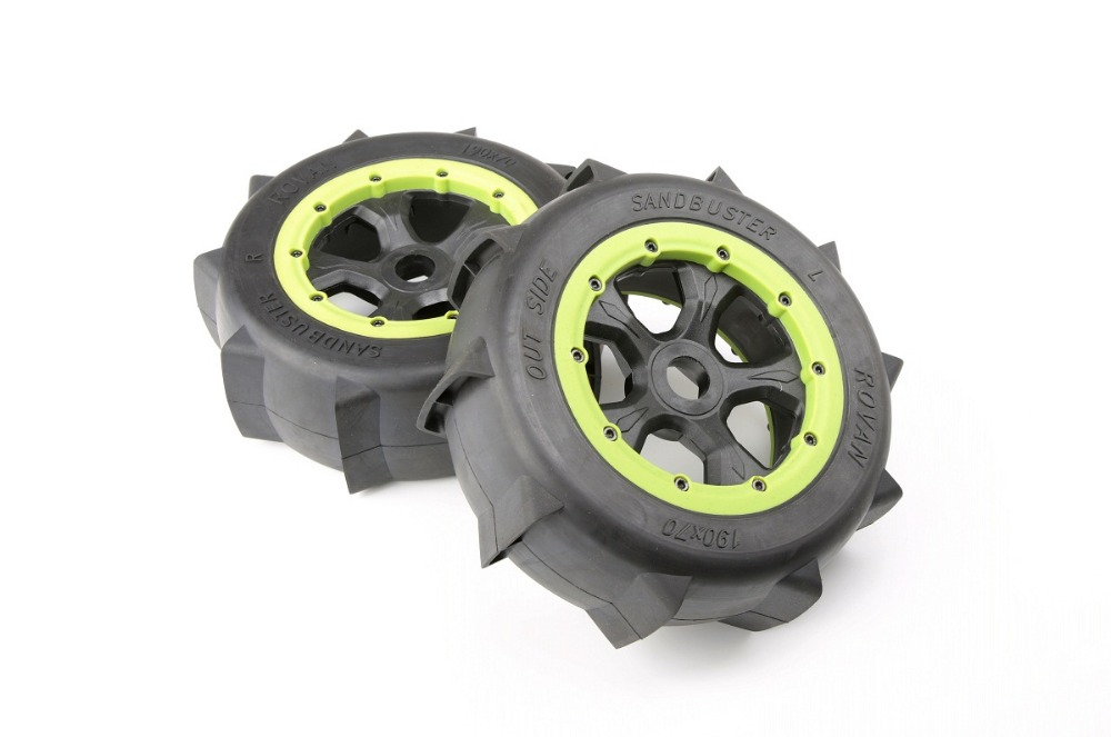 Remote Control Toys Toys & Hobbies Rovan Lt Sand Paddle Wheels Tires Fit 1/5 Losi 5ive-t Roval Baja 4wd Slt Rc Car Parts Selling Well All Over The World