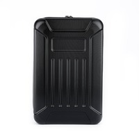 Black ABS Hard Shell Backpack Case Bag Camera Drone Bag Backpacks RC Quadcopter Case Bags for Hubsan X4 H501S Quadcopter