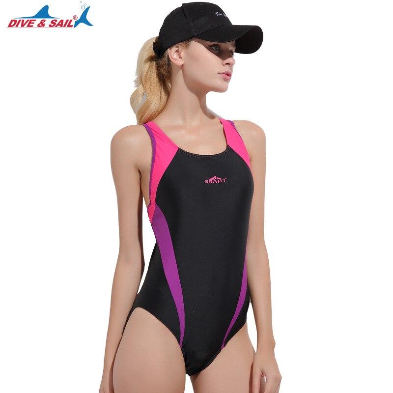Luxury Brand 2019 Sexy Swimwear Female Summer Suit Beach Wear One Piece Swimwear Women Body Suit Spandex Swimsuit Free Shipping Sports & Entertainment