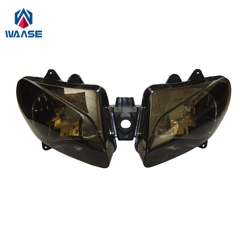 waase YZF R1 00 01 Front Headlight Headlamp Head Light Lamp Assembly For Yamaha YZF R1