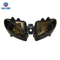 waase YZF R1 00 01 Front Headlight Headlamp Head Light Lamp Assembly For Yamaha YZF R1 2000 2001