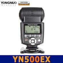Yongnuo yn-500ex gn53 flash speedlite speedlight hss 1/8000 ttl yn500 ex para canon 700d 650d 600d 6d 7d 50d 60d 450d 400d 5d 5d2