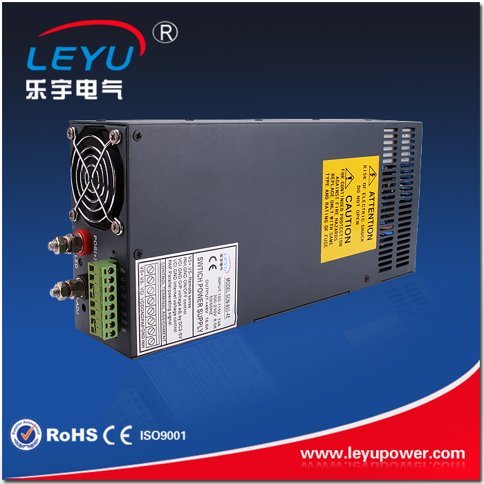 SCN-600-12 180-264vac 12vdc high power 600w 50A short circuit switching power supply with parallel limit switches scn 1633sc