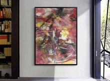 Large Size Free Shipping by DHL FEDEX UPS Colorful Abstract Oil painting Unframed for Home decor Canvas Painting