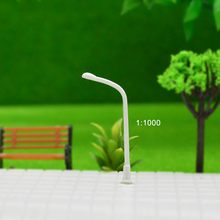 Lamppost Model 1:1000 Plastic Streets Lamp Single-head Railway Layout Street Lights for model design