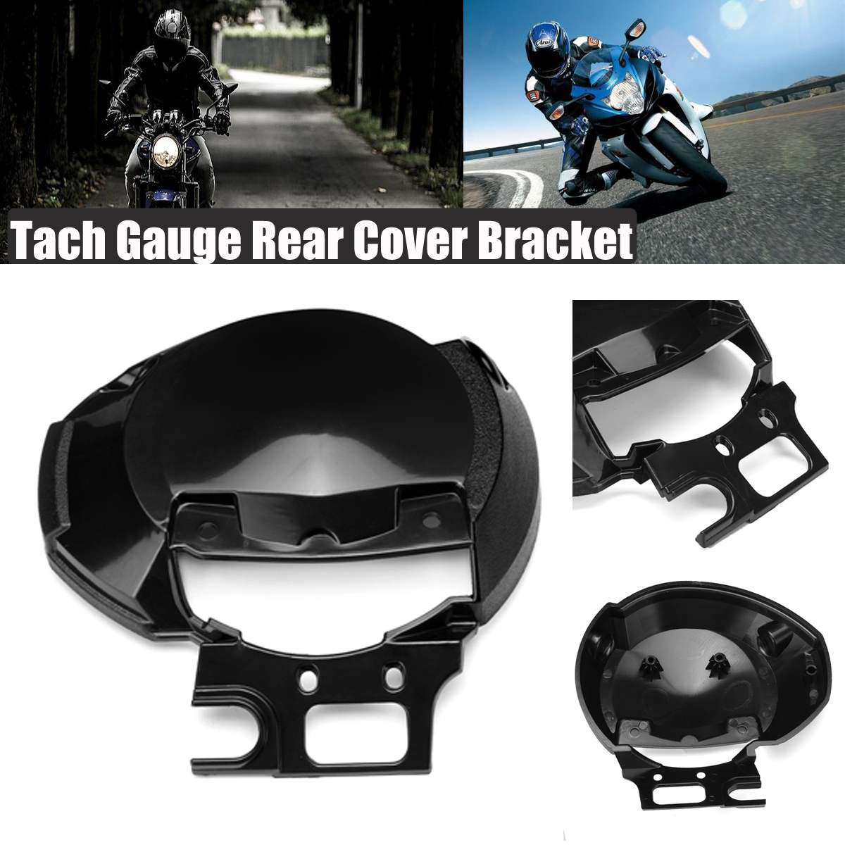 Motorcycle Bottom Speed Tach Gauge Rear Back Cover Bracket Headlight for Yamaha FZ6 FZ6N 2004 2005 2006