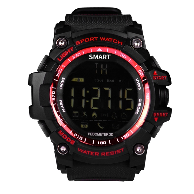 AIWATCH XWATCH Sport Smart Watch Pedometer Stopwatch 5ATM Waterproof Smartwatch Call Message Reminder Wristwatch for Android IOS