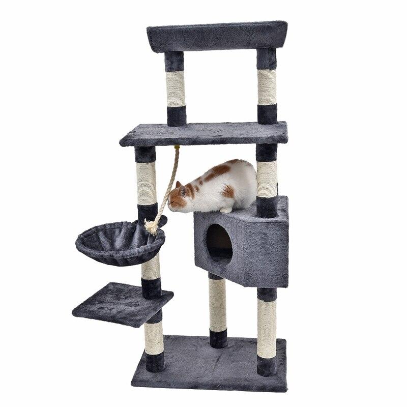 Новое поступление ПЭТ Забавные игрушки котенок восхождение игрушка простой и стильный дизайн длинный пух Материал удобные и мягкие Совета