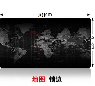 Super large 1000x500mm 900x40mm 700x300mm 600x300mm World Map rubber mouse pad computer game tablet mousepad with edge locking in Mouse Pads from Computer Office