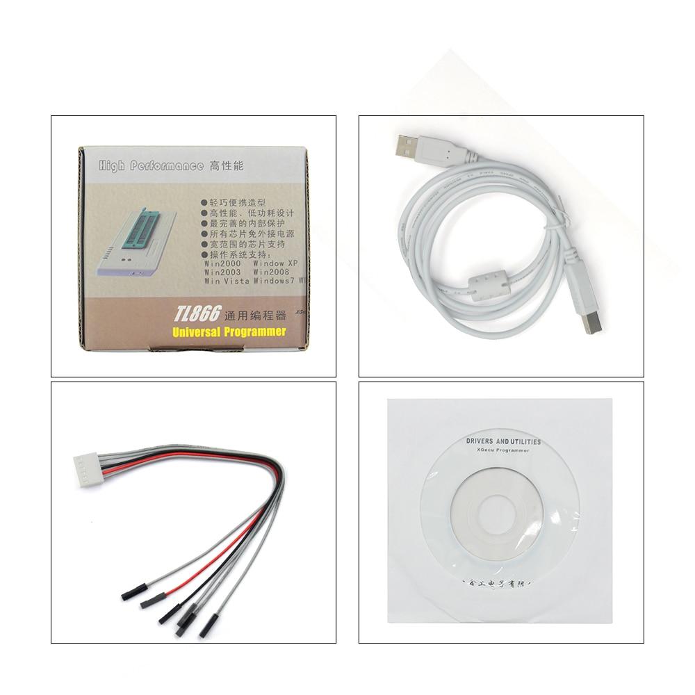 D'origine XGECU V8.30 TL866II Plus EEPROM PIC AVR TL866A TL866CS USB Universal BIOS nand Programmeur 24 93 25 mcu Bios EPROM - 4