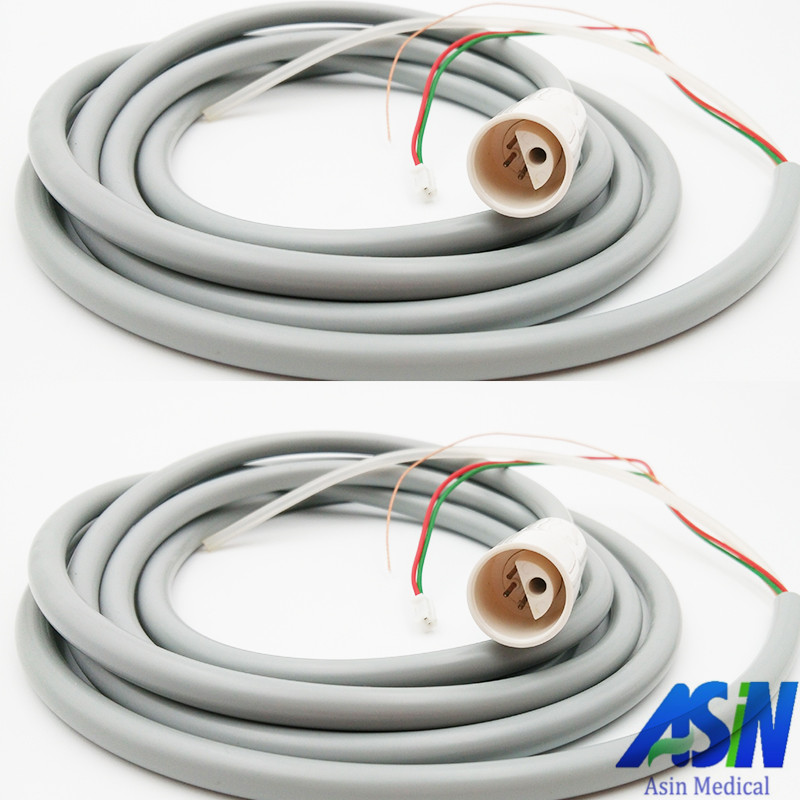 2 pc X DTE compatible Scaler Tubing Hose For Ultrasonic Dental Satelec DTE Scaler Handpiece compatible with Skysea Cable Tube 2 sets seks satelec endosuccess kit for dental endodontics treatment fit gnatus nsk hu friedy and woodpecker dte scalers