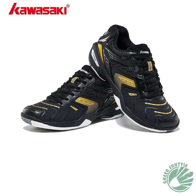 Genuine 2019 New Kawasaki Shoes Double TPU For Anti Twist K 520 K 522 Badminton Shoes