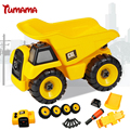 Tumama bebé coche de juguete de plástico de montaje desmontaje classic cars truck toys marca niños regalos artículos calientes
