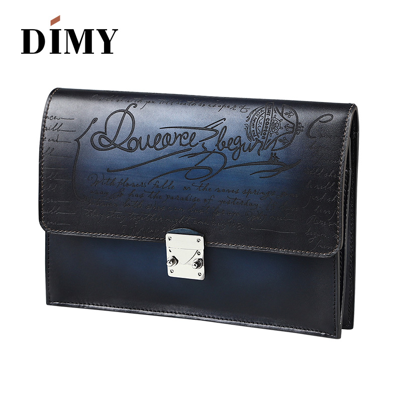 445ab4d5 DIMY Handmade Patina Vintage Calf Leather Envelope Clutch Bag Men Purse  Tote Bag Hasp Wallet Day Clutches Bag For Male Handbag on Aliexpress.com |  Alibaba ...
