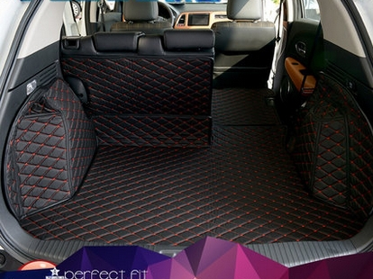 Special Trunk Mats For Honda Hr V 2017 Durable Waterproof Cargo Liner Boot Carpets Hrv Free Shipping