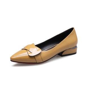 Image 5 - MORAZORA 2020 رائجة البيع أشار تو أحذية الصيف الصلبة موضة pumpe النساء أحذية غير رسمية مريحة منخفضة الكعب مضخات أحذية النساء