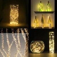 100 נוריות עמיד למים חיצוני אור מחרוזת 10 m נחושת חוט לבן חם אורות מסיבת חג מולד הגינה פאטיו חיצוני עץ