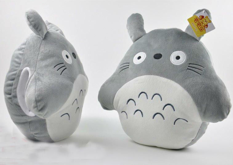 16 Totoro Warm Hand Plush Toys Cushion Stuffed Plush Pillow Cartoon Stuffed Cushion Pillow